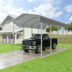 VersaTube 12x20x10 Classic Steel Carport Kit (CM012200100)
