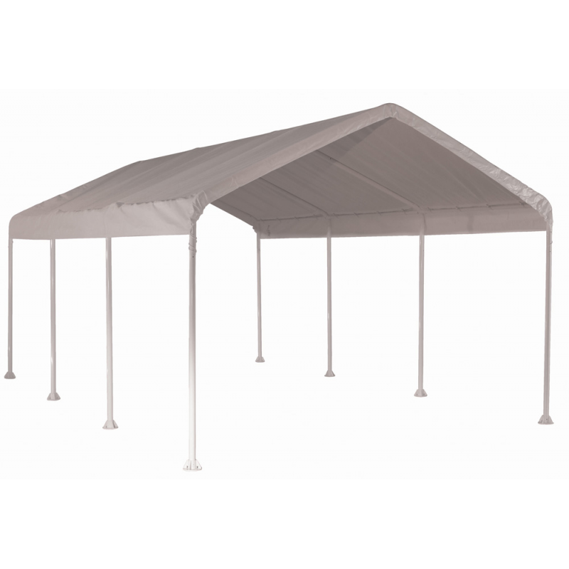 ShelterLogic 10'×20' Canopy - White (23571)