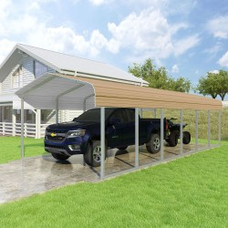 VersaTube 12x29x7 Classic Steel Carport Kit (CM012290070)