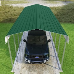 VersaTube 2-Sided 12x20x7 Classic Steel Carport Kit (CM012200070-NS0009)