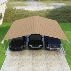 VersaTube 24x20x7 Classic Steel Carport Kit (CM224200070)