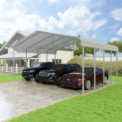VersaTube 20x20x12 Classic Steel Carport Kit (CM020200120)