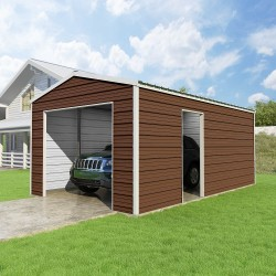 VersaTube 12x20x8 Frontier Steel Garage Kit (FB0122008519)