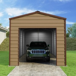 Versatube 12x20x10 Frontier Steel Garage Kit (FB0122010519)