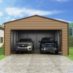 Versatube 20x20x8 Frontier Steel Garage Kit (FB2202010516 )
