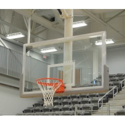 "Gared 42"" x 72"" Regulation Glass Backboard with Aluminum Frame (AFRG42)"