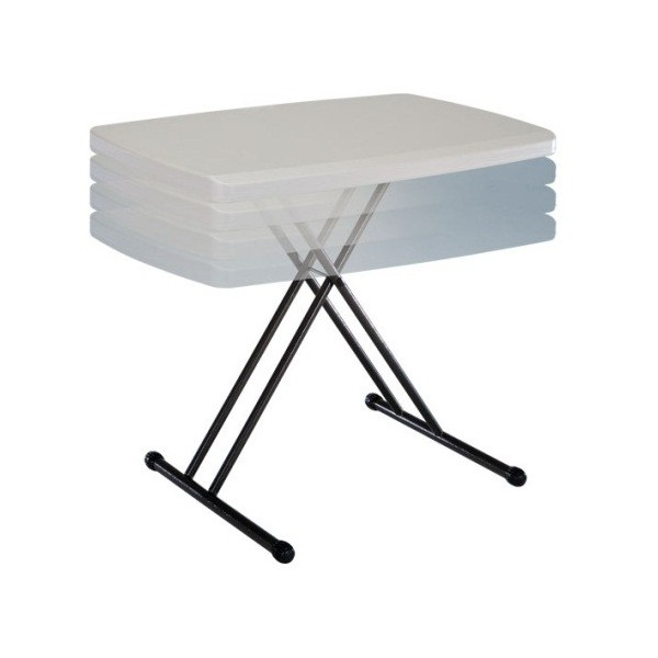 Lifetime 30x20 In Personal Adjustable Height Folding
