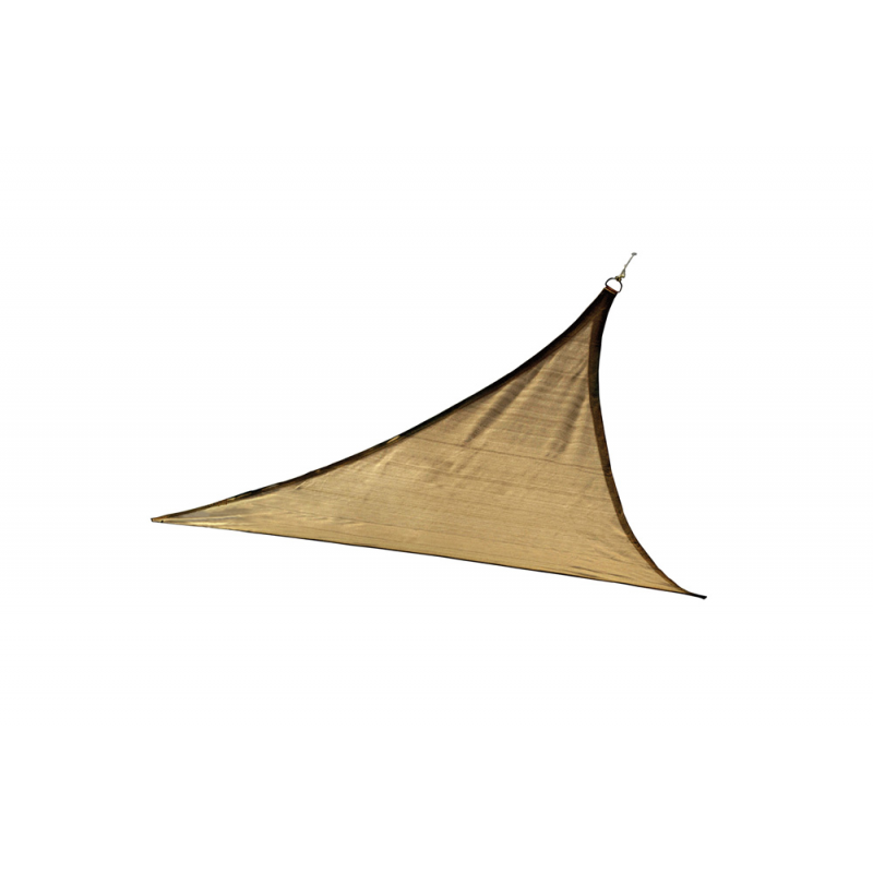 Shelter Logic 16 f Triangle Shade Sail - Sand (25729)
