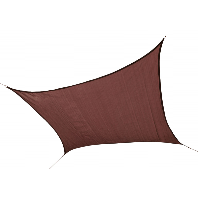 Shelter Logic 16 ft Square Shade Sail - Terracotta (25673)