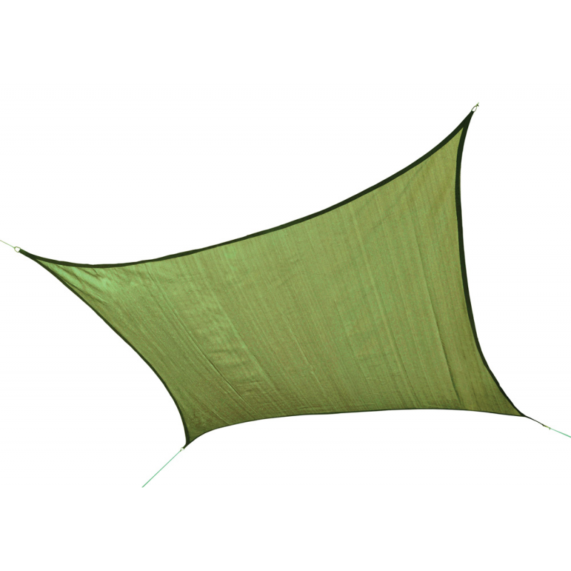 Shelter Logic 16 ft Square Shade Sail - Lime Green (25677)