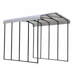 Arrow 14x20x14 Steel RV Carport Kit - Eggshell (CPH142014)