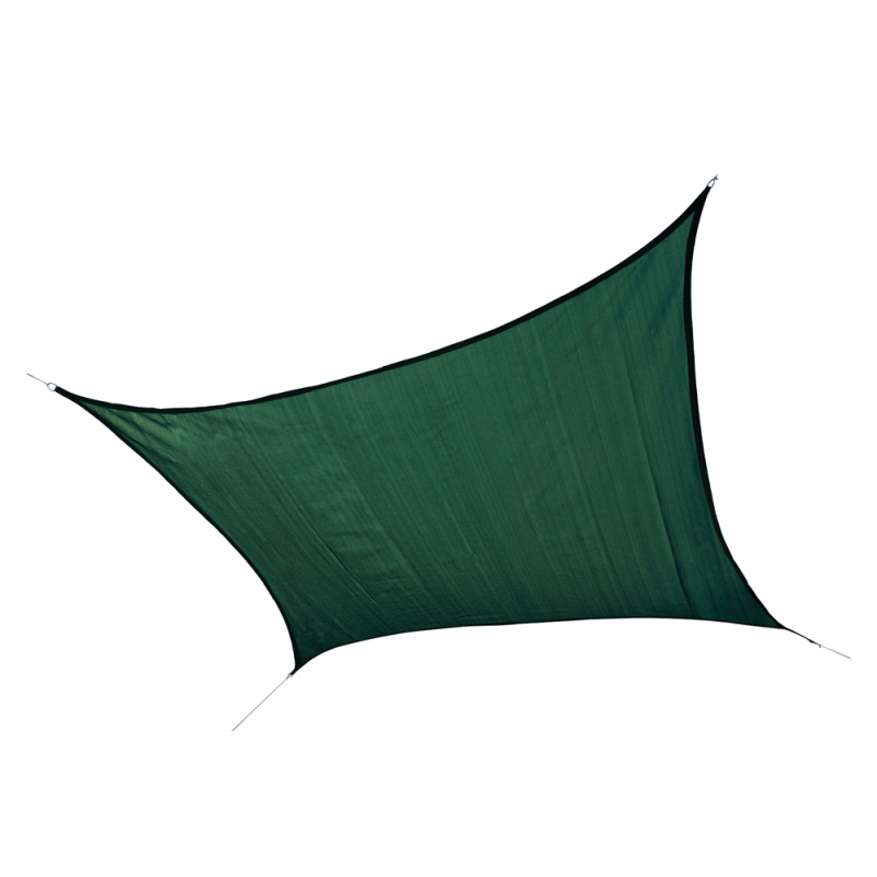 Shelter Logic 16 ft Square Shade Sail - Evergreen (25727)