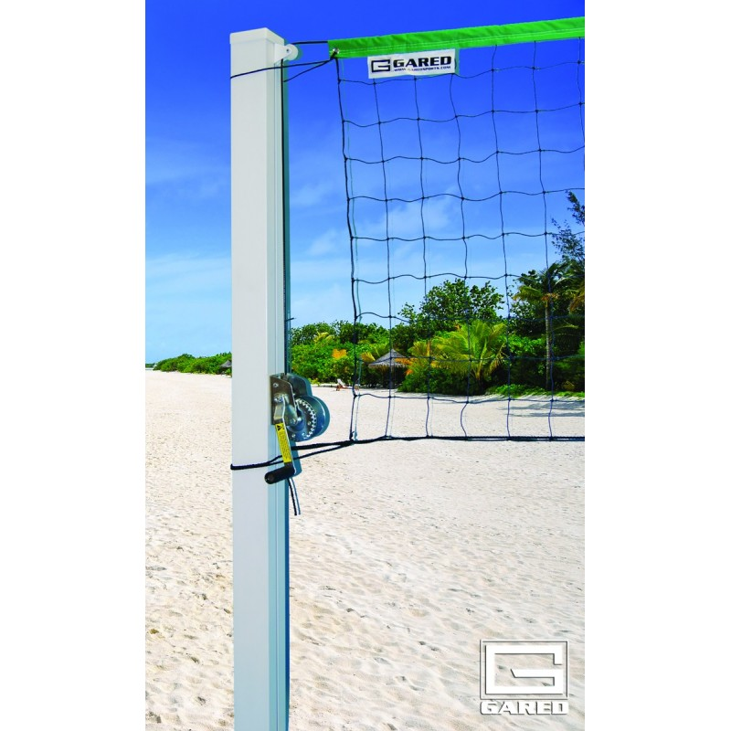 """Gared 4"""" Square SideOut™ Outdoor Volleyball Standards  (ODVB40SQ)"""