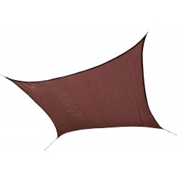 Shelter Logic 12 ft Square Shade Sail - Terracotta (25672)