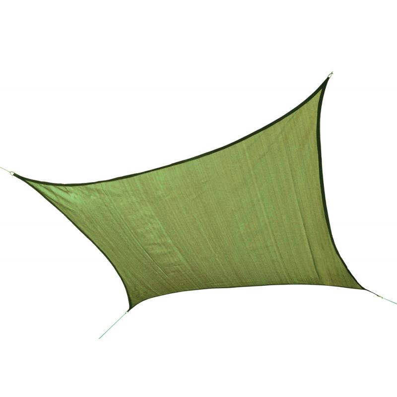 ShelterLogic 12 ft Square Shade Sail - Lime Green (25676)