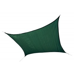 Shelter Logic 12 ft Square Shade Sail - Evergreen (25726)