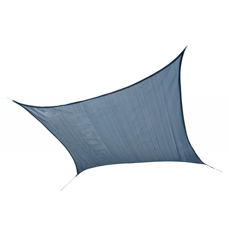 Shelter Logic 12 ft Square Shade Sail - Sea (25735)