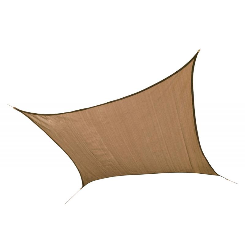 ShelterLogic 12 ft Square Shade Sail - Sand (25722)