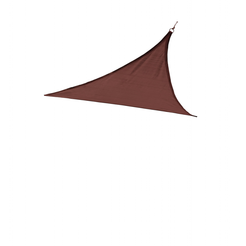 ShelterLogic 16 ft Triangle Shade Sail - Terracotta (25671)