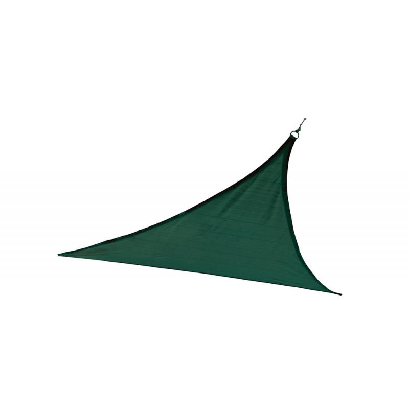 ShelterLogic 16 ft Triangle Shade Sail - Evergreen (25725)