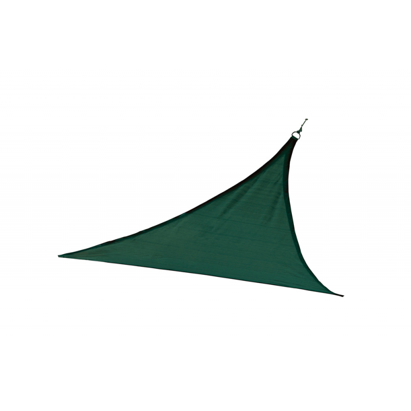 Shelter Logic 16 ft Triangle Shade Sail - Evergreen (25725)