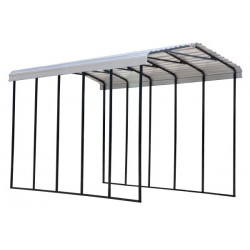 Arrow 14x24x14 Steel RV Carport Kit - Eggshell (CPH142414)