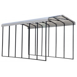 Arrow 14x29x14 Steel RV Carport Kit - Eggshell (CPH142914)