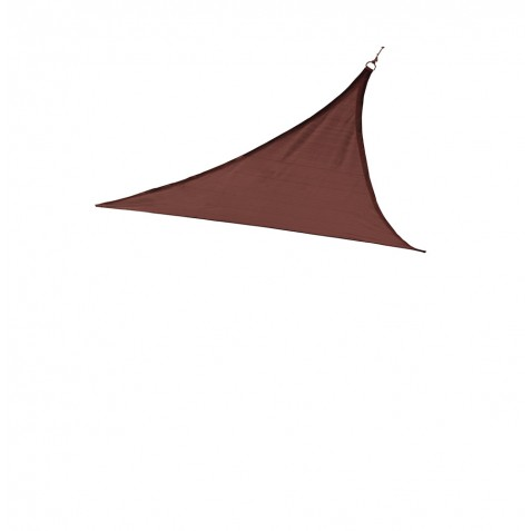 Shelter Logic 12 ft Triangle Shade Sail - Terracotta (25670)