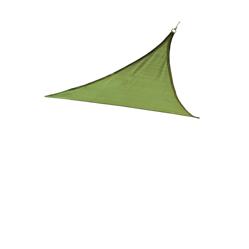 Shelter Logic 12 ft Triangle Shade Sail - Lime Green (25674)