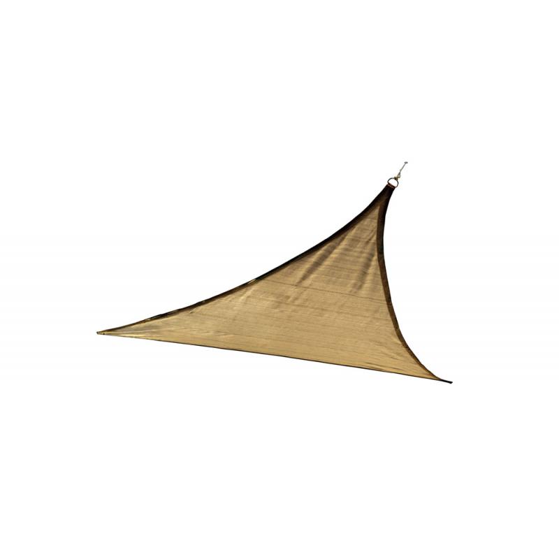 ShelterLogic 12 ft Triangle Shade Sail - Sand (25720)