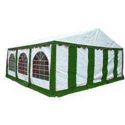 Shelter Logic 20x20 Party Tent Enclosure Kit - Green/White (25929)