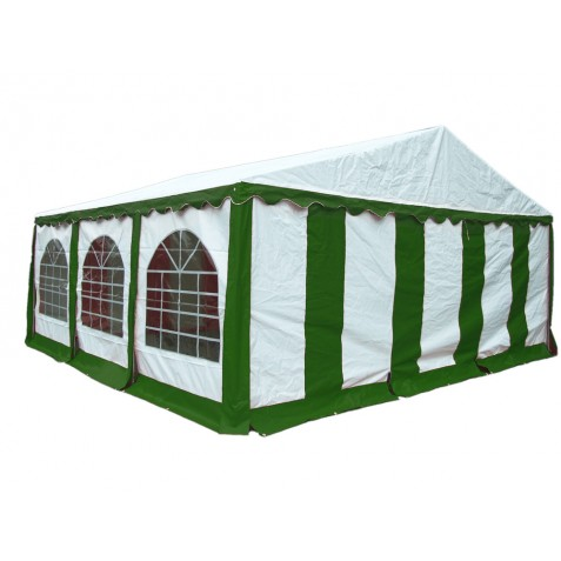 Shelter Logic 20x20 Party Tent Enclosure Kit - Green/White (25929)