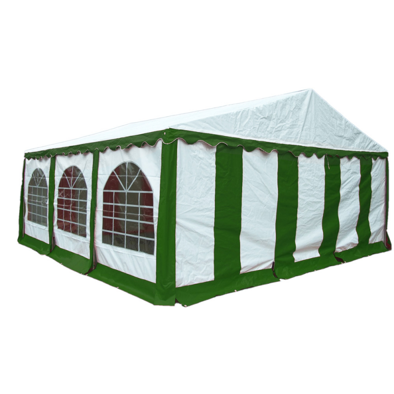 ShelterLogic 20x20 Party Tent Enclosure Kit - Green/White (25929)