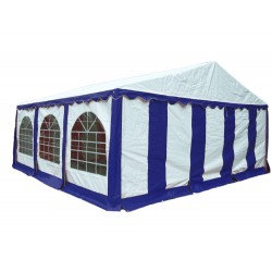 Shelter Logic 20x20 Party Tent Enclosure Kit - Blue/White (25928)