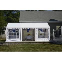ShelterLogic 10x20 Party Tent Enclosure Kit - White (25897)