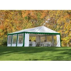 ShelterLogic 20x20/ 6x6m Party Tent Enclosure Kit - Green/White (25922)