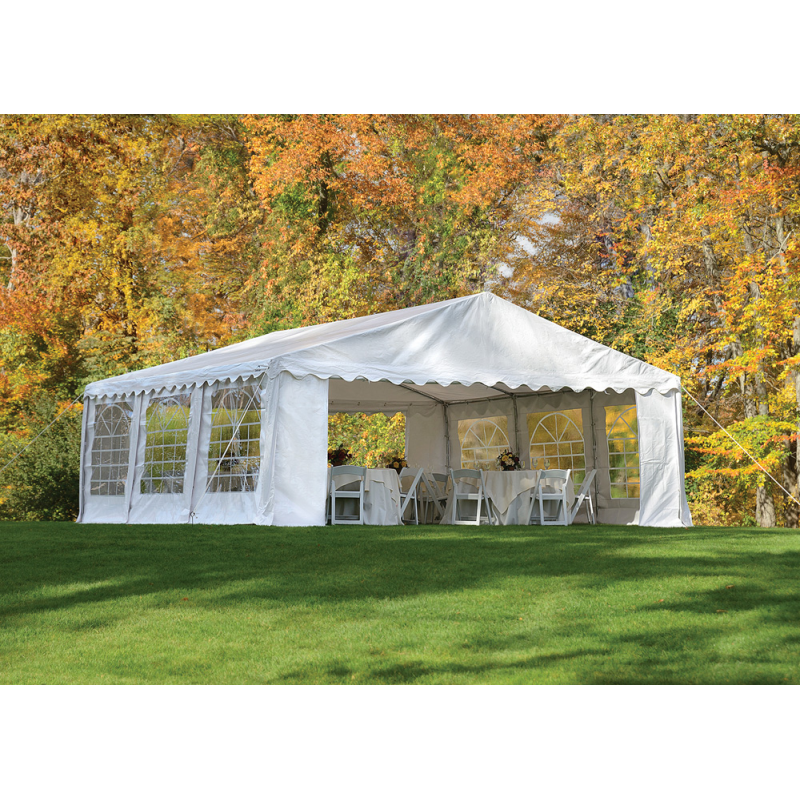 Shelter Logic 20x20/ 6x6m Party Tent Enclosure Kit - White (25920)