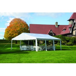 Shelter Logic 20x20/ 6x6m Party Tent - White (25917)