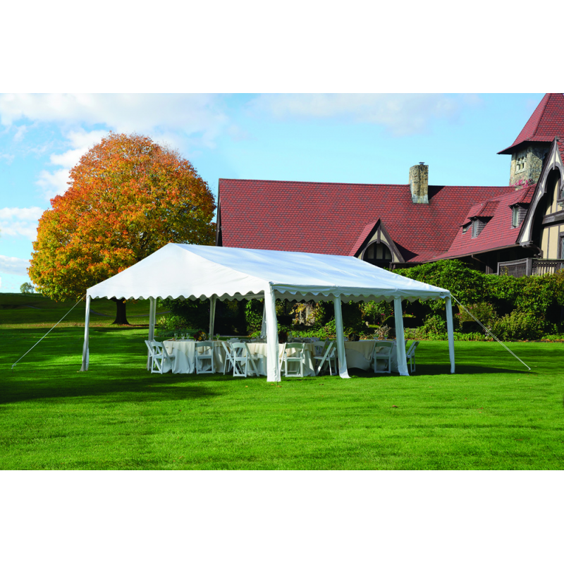 ShelterLogic 20x20/ 6x6m Party Tent  - White (25917)