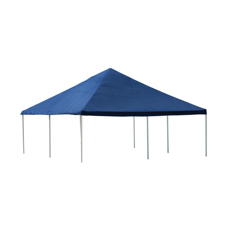 Shelter Logic 20×20 Canopy - Blue (25797)
