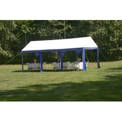 Shelter Logic 10x20 Party Tent - Blue/White (25888)
