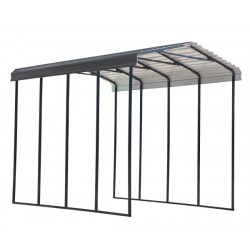 Arrow 14x20x14 Steel RV Carport Kit - Charcoal (CPHC142014)
