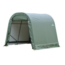 ShelterLogic 8x12x8 Round Style Shelter, Green (76814)