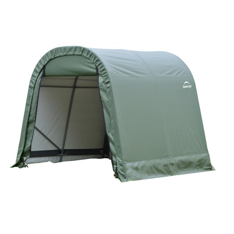 ShelterLogic 8x16x8 Round Style Shelter, Green (76824)