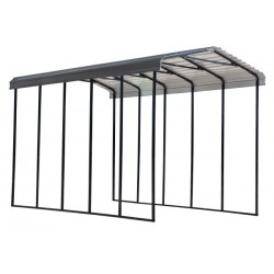 Arrow 14x24x14 Steel RV Carport Kit - Charcoal (CPHC142414)
