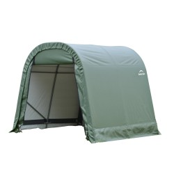 ShelterLogic 10x8x8 Round Style Shelter, Green (77804)