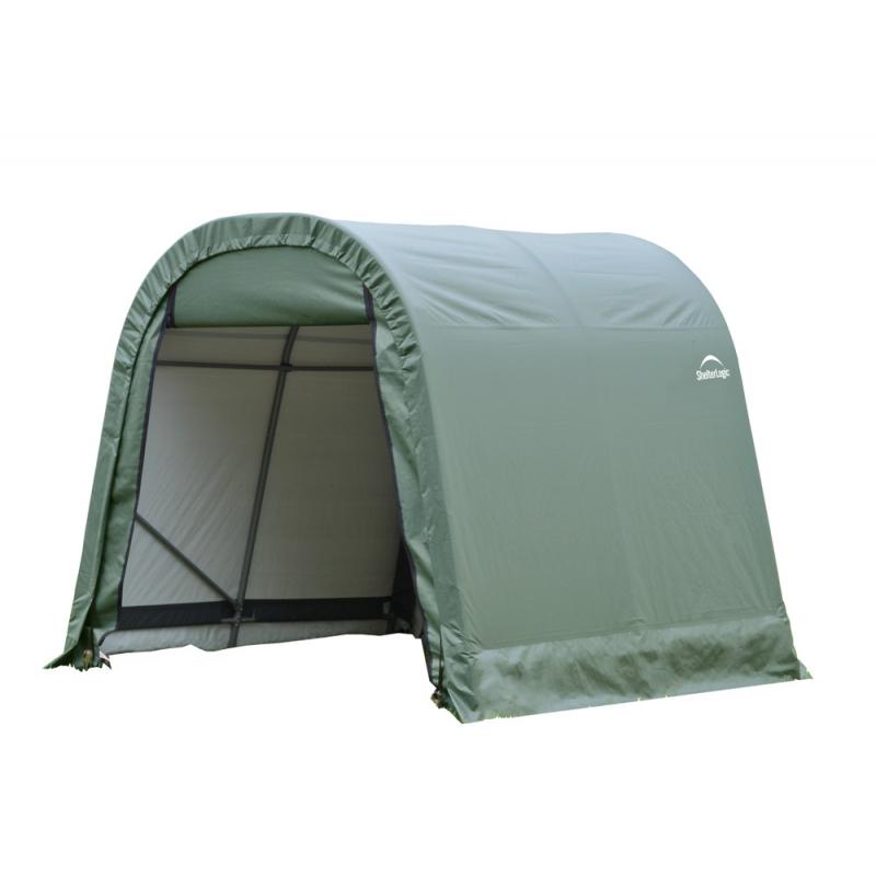 ShelterLogic 10x8x8 Round Style Shelter, Green (77804)