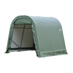 ShelterLogic 10x12x8 Round Style Shelter, Green (77814)