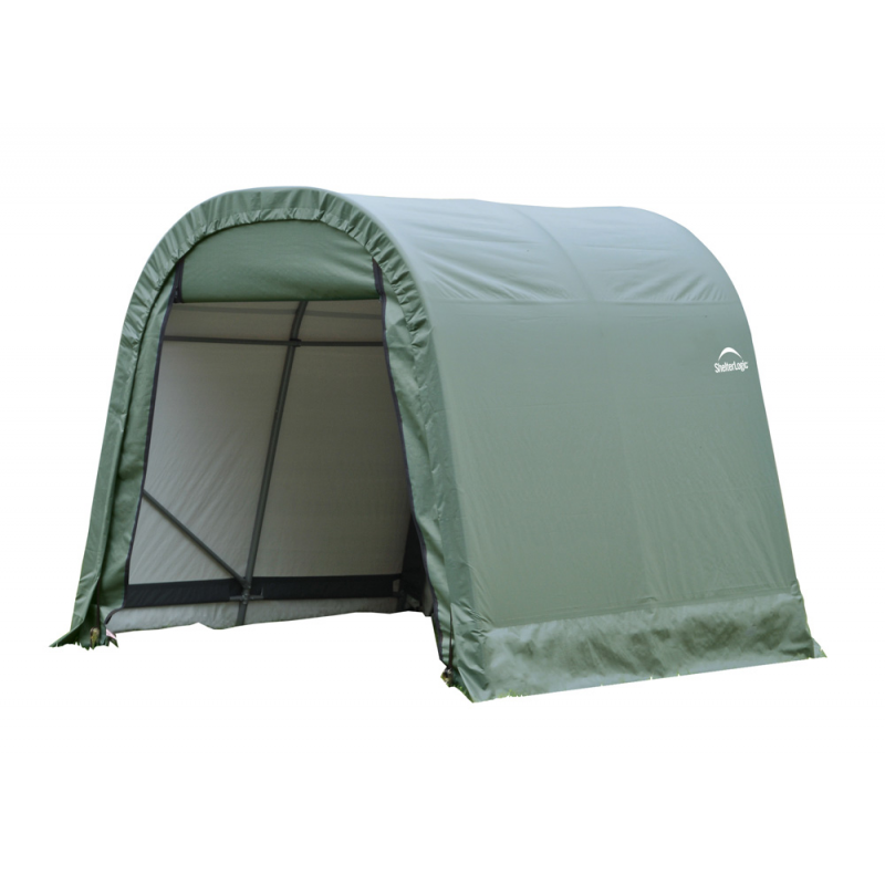 Shelter Logic 10x12x8 Round Style Shelter, Green (77814)