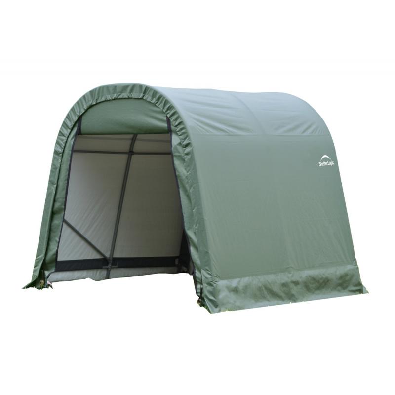 ShelterLogic 10x12x8 Round Style Shelter, Green (77814)